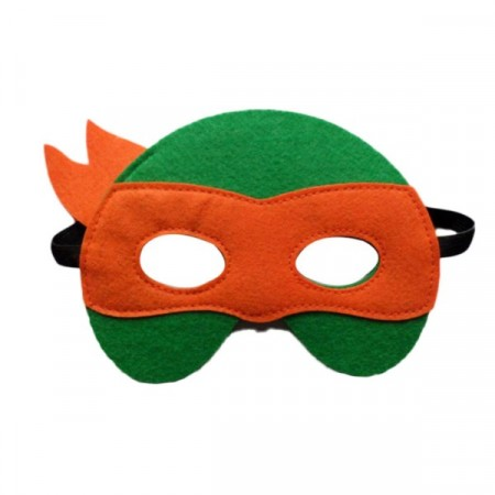 Maske Teenage Mutant Ninja Turtles Oransje