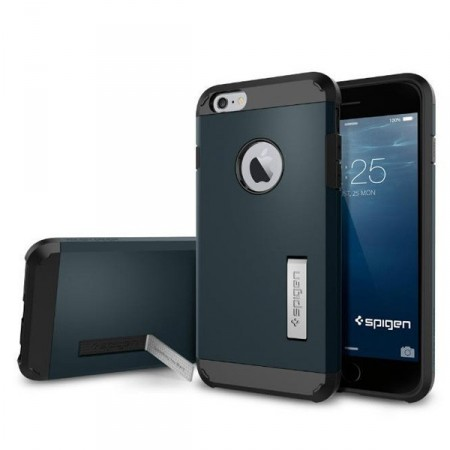 Deksel iPhone 6 plus Spigen Armour Navy