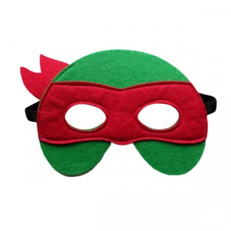 Maske Teenage Mutant Ninja Turtles Rød