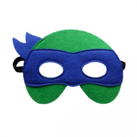 Maske Teenage Mutant Ninja Turtles Blå