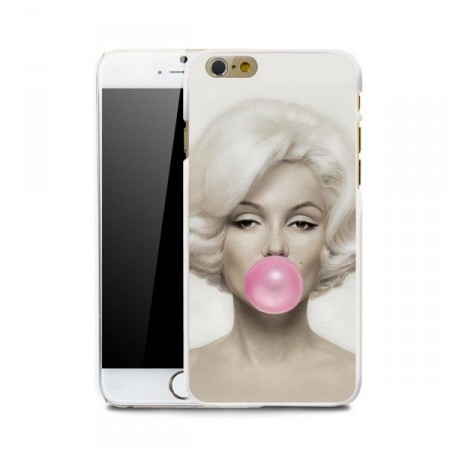 Deksel iPhone 6 Marilyn Monroe Rosa