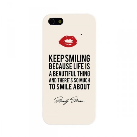 Deksel iPhone 5 Keep smiling