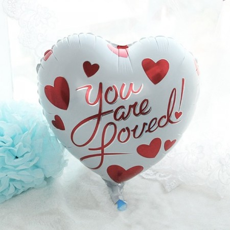 Folieballong You Are Loved 35 cm