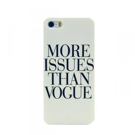 "Deksel iPhone 5 ""More issues than Vogue"""