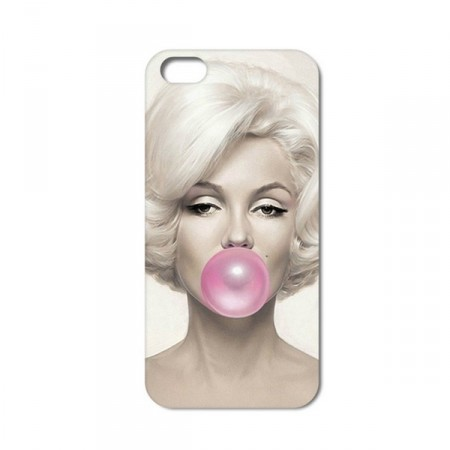 Deksel iPhone 6 plus Marilyn Monroe Rosa