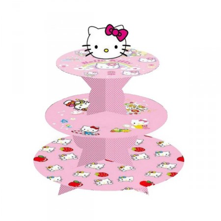Cupcake stativ Hello Kitty