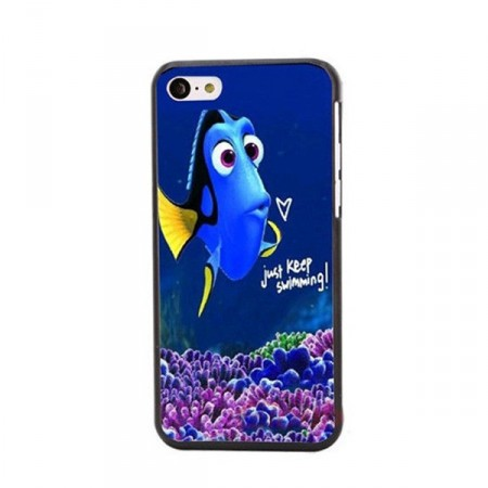 "Deksel iPhone 5 Nemo ""Keep swimming"""