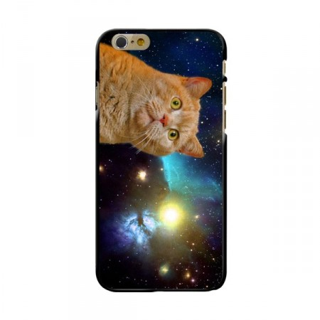 Deksel iPhone 6 plus Cat in space