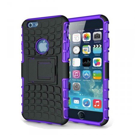 Deksel iPhone 6 plus Armour Rubber Lilla