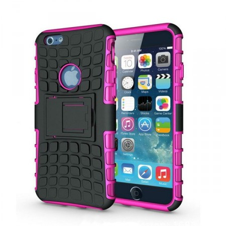 Deksel iPhone 6 plus Armour Rubber Rosa